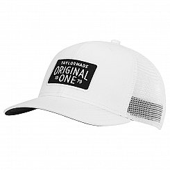 TaylorMade Lifestyle Original One Trucker Cap - White