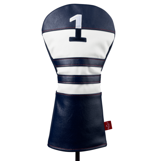 Callaway Vintage Driver Headcover - Navy/White/Red